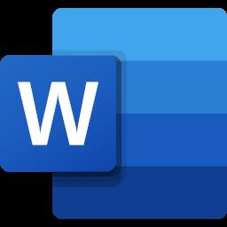 Logo de Microsoft Word.